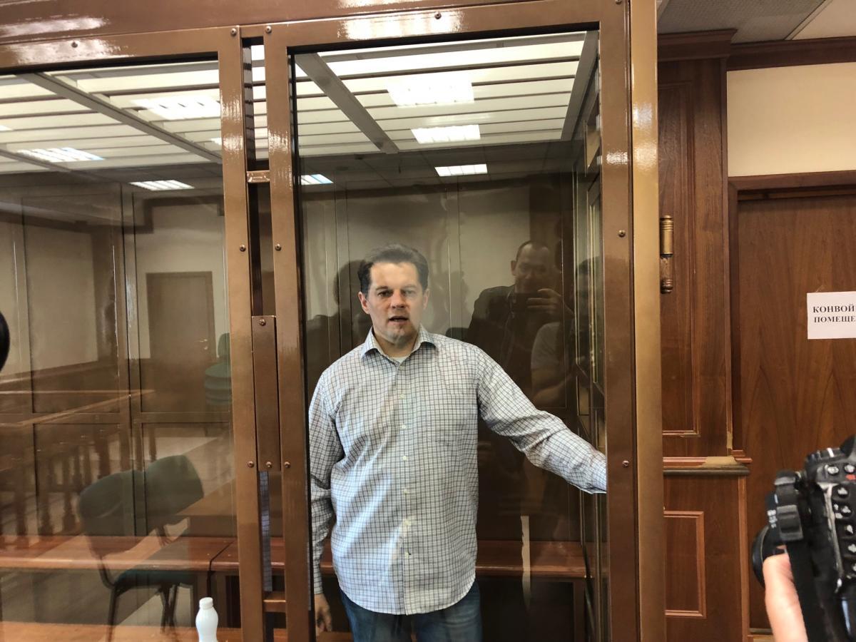 4 червня Мосміськсуд засудив Сущенка до 12 років колонії суворого режиму / фото Роман Цимбалюк