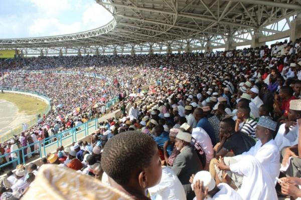 Конкурс проходит на одном из футбольных стадионов / islam-today.ru