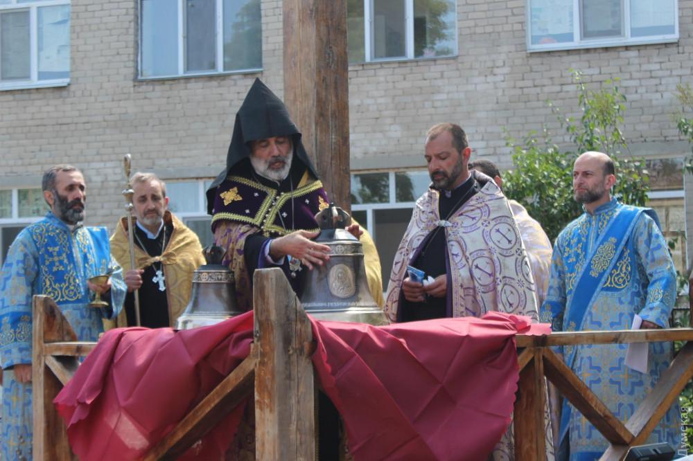 Освящение колоколов для армянской Церкви / dumskaya.net/news
