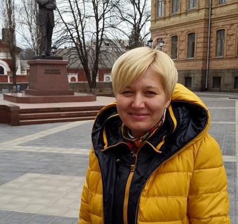 Ницой устроила скандал в СБУ / фото facebook.com/larysa.nitsoi