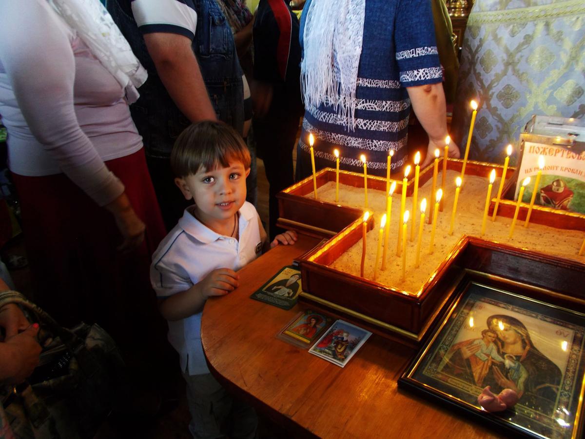 В Запорожье совершили покаянный молебен о грехе аборта / hramzp.ua