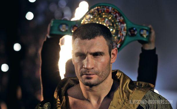 Виталий Кличко войдет в боксерский Зал славы / klitschko-brothers.com