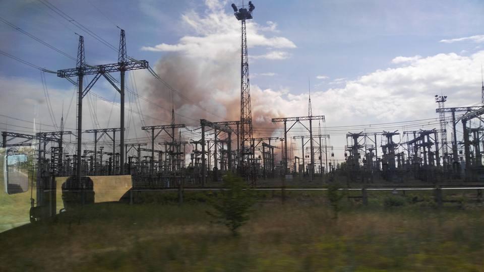 Поліція відкрила кримінальне провадження за фактом пожежі у Чорнобилі / фото facebook.com/levina.ns
