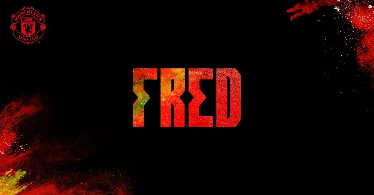 Фред стал игроком Манчестер Юнайтед / twitter.com/ManUtd