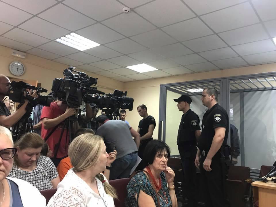 В Подольском суде зачитали обвинительный акт по делу Осмаева и Окуевой/ фото facebook.com/marina.matsegora