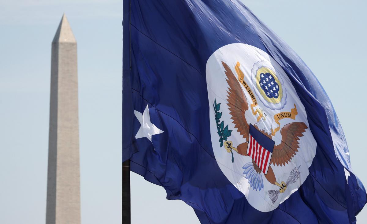 Прапор Держдепартаменту США / REUTERS