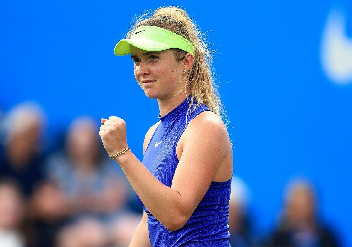 Світоліна виграла перший матч на турнірі в Бірмінгемі / twitter.com/BritishTennis