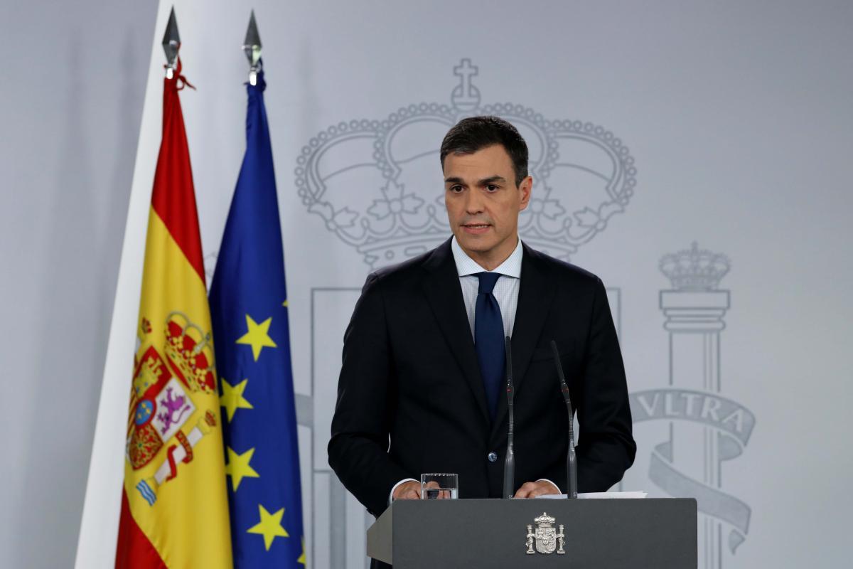Педро Санчес / REUTERS