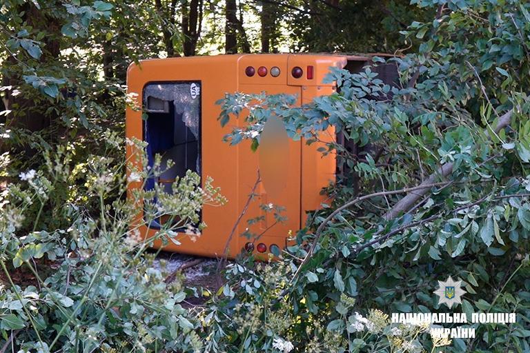 Одна из пассажирок автобуса умерла в больнице / фото if.npu.gov.ua