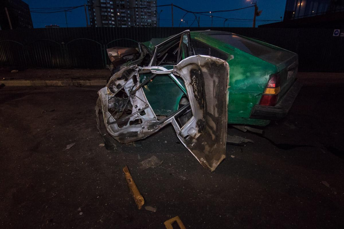 В результате ДТП в Киеве пострадали трое человек / фото Владислав Леонов / Информатор