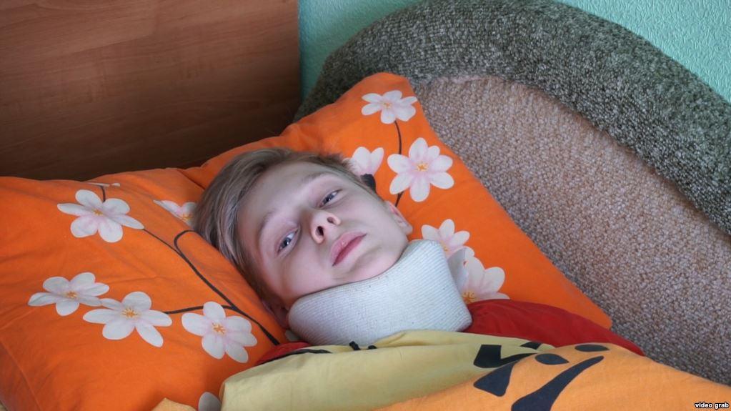Черникова избили в лицее / фото Радио Свобода