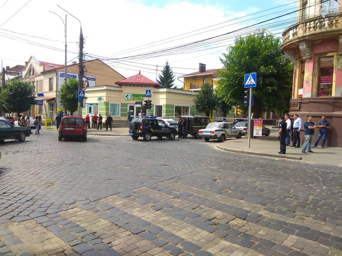 В настоящее время улица перекрыта / 0372.ua