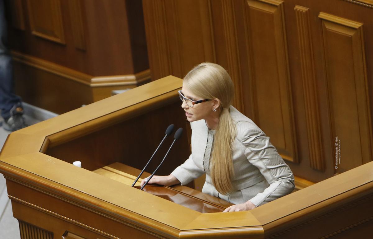 Очільниця партії «Батьківщина» не заперечила, що зустрічалась із Пінчуком / Photo by Alexander Prokopenko