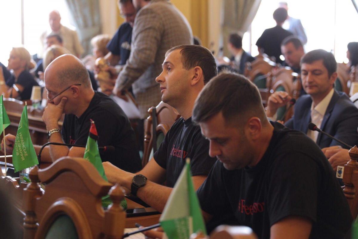Львовский УКРОП призвал освободить Олега Сенцова