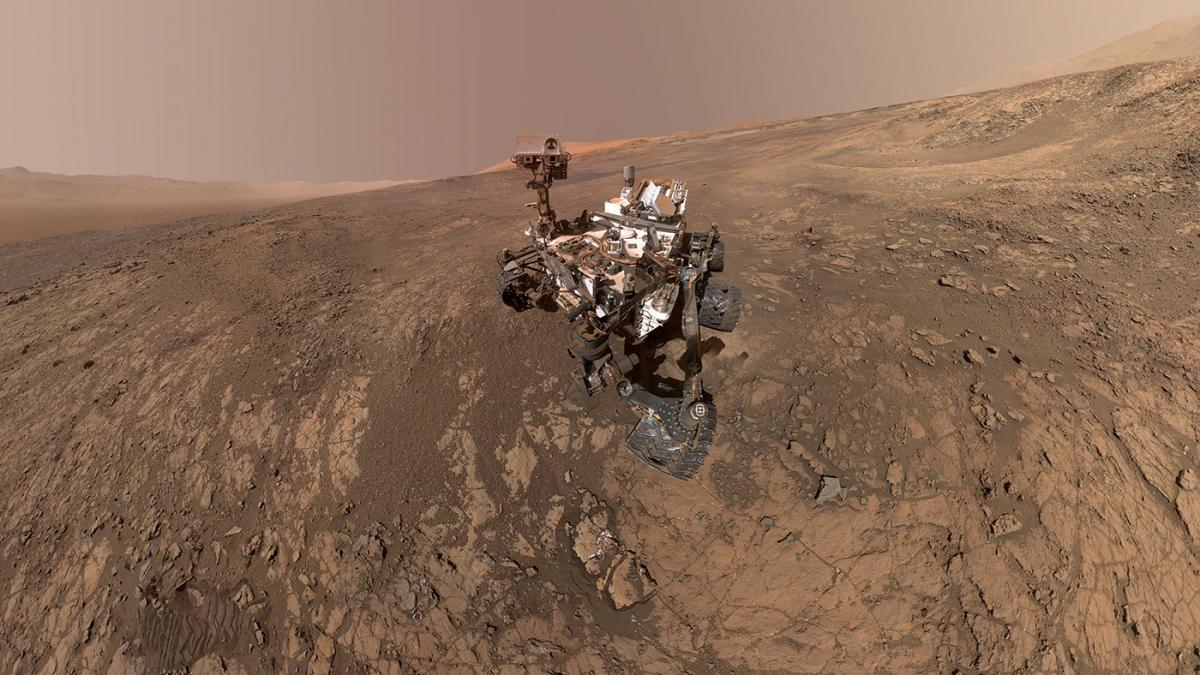 Марсоход Curiosity / REUTERS