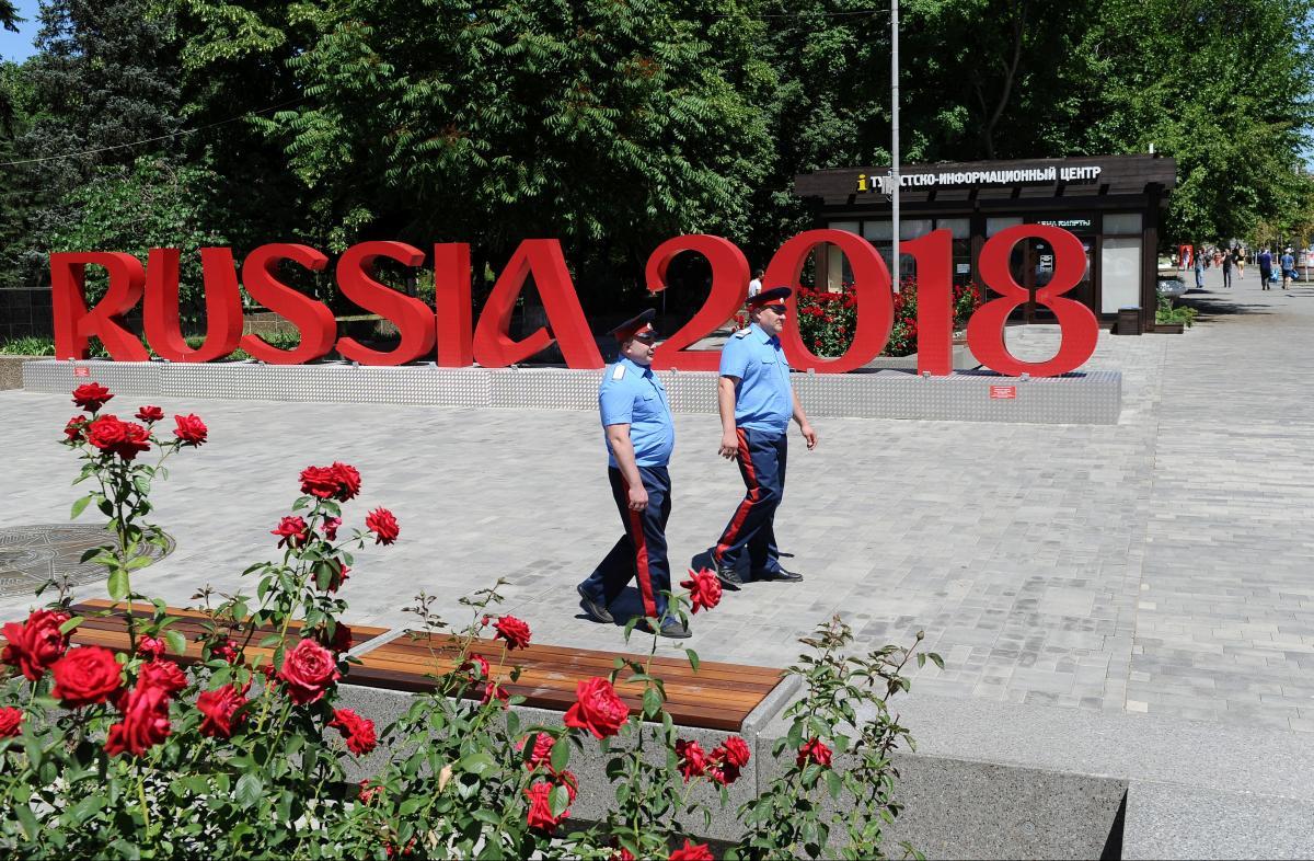 На ЧМ-2018 произошел очередной инцидент / REUTERS