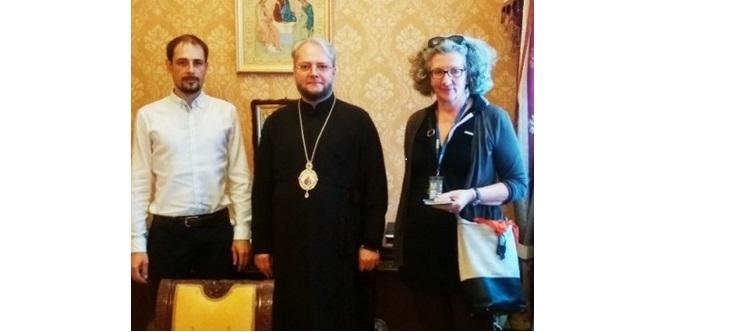 Архієпископ Олексій зустрівся з представником ОБСЄ / news.church.ua