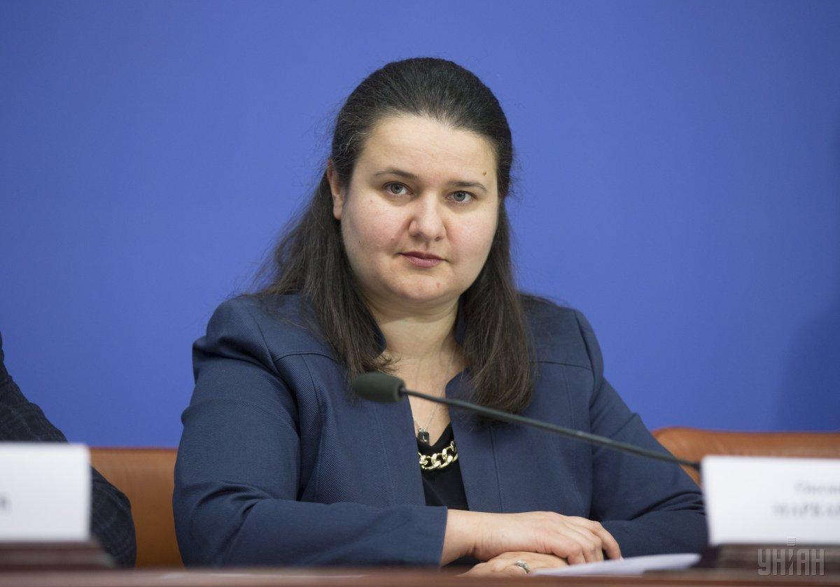 Маркарова: Я навіть не знаю, звідки такі небилиці беруться / фото УНІАН