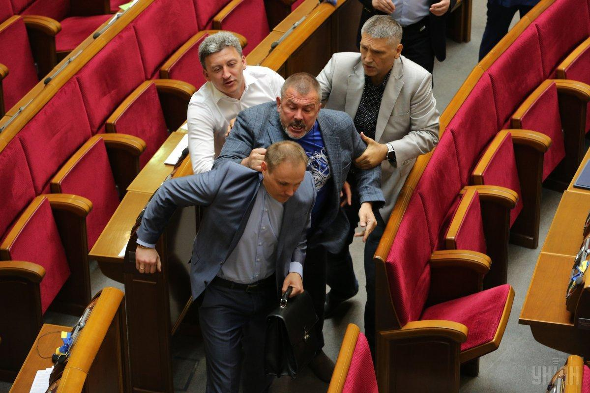 """Береза призывает СБУ, Минюст и полицию проанализировать деятельность партий, которые говорят о """"мире любой ценой"""" / фото УНИАН"""