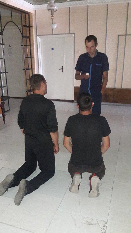 Обидчики попросили прощения у АТОшника / фото facebook.com/oleg.pyavka