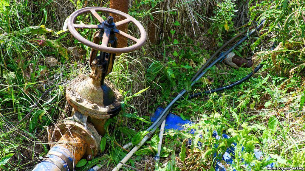 Окупанти вичерпали водний ресурс у Криму