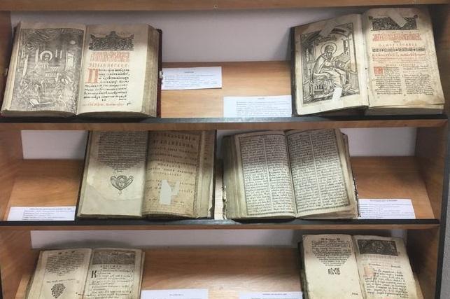 У Галичі відкрили виставку церковних стародруків / day.kyiv.ua