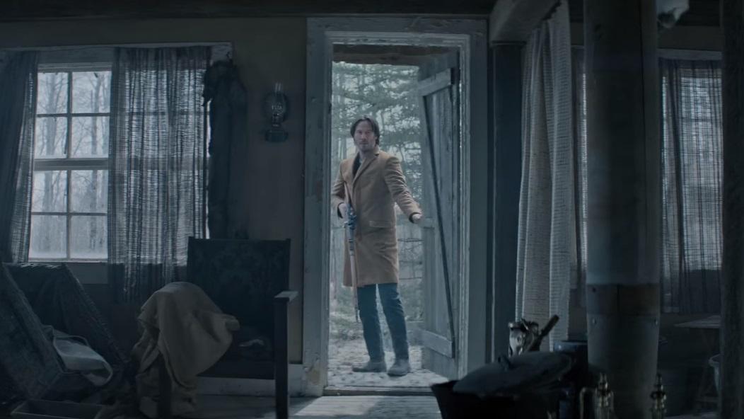 """Сцени в """"сибірському селі"""" знімалися в Канаді / Кадр з відео Saban Films"""