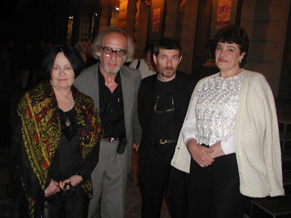 Муратова, Женин и супруг Муратовой Евгений Голубенко / фото из личного архива Евгения Женина