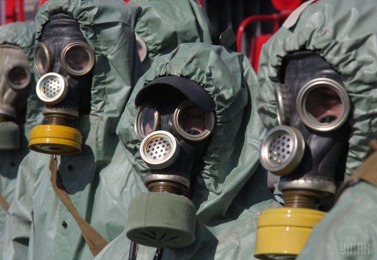 Комаровский рассказал об эффективности использования противогаза / фото УНИАН