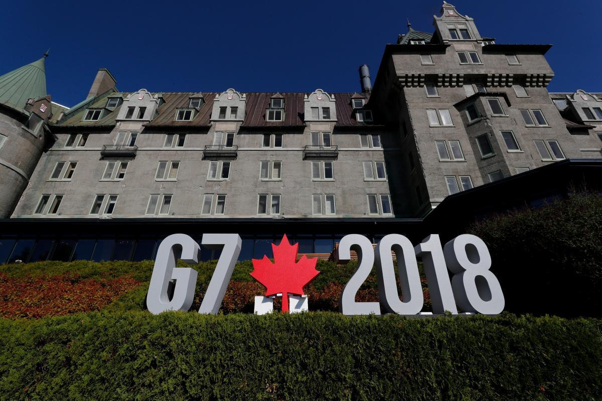 В этом году саммит G7 проходит в Канаде / REUTERS