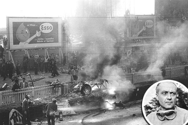 11 июня 1955 года во время гонки «24 часа Ле-Мана» в результате аварии погибли 83 человека, включая гонщика Пьера Левега
