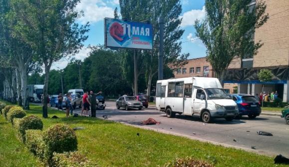 """""""Воха"""" попал в аварию / Сайт боевиков"""