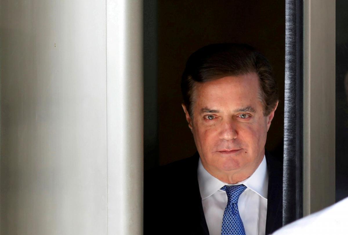 Пол Манафорт / фото REUTERS