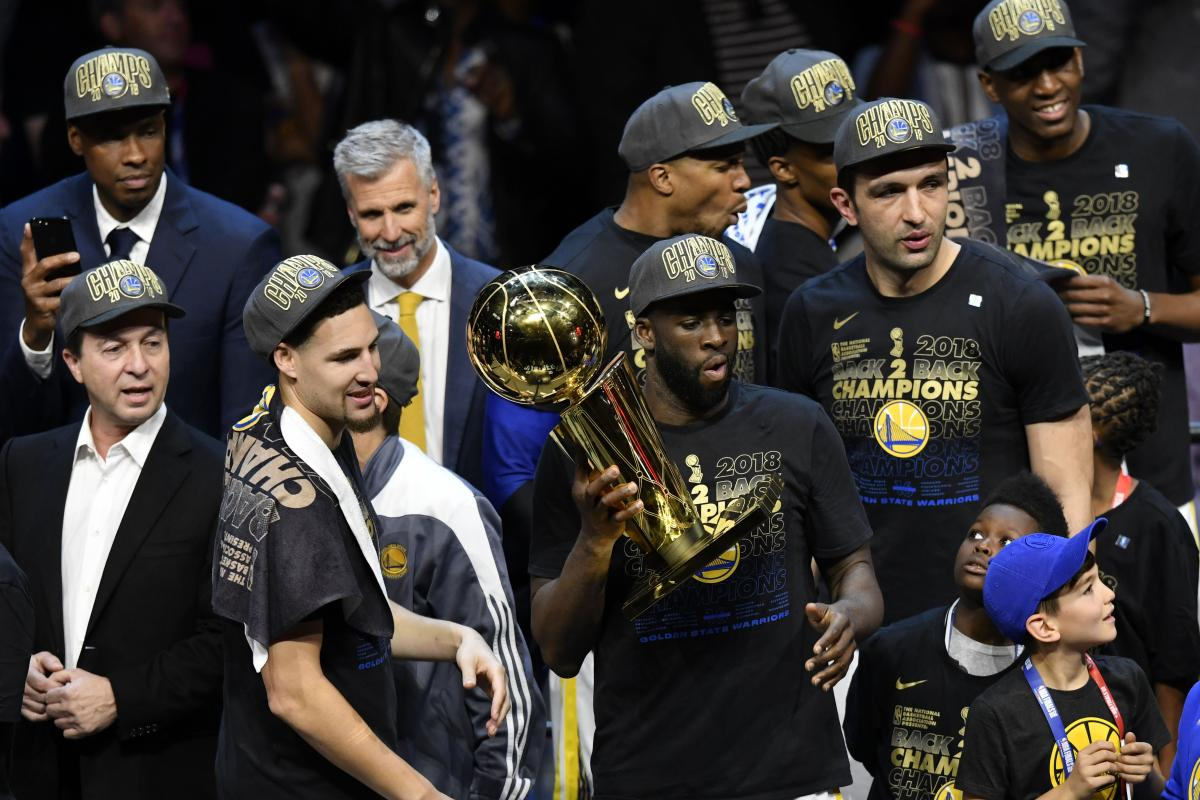 """""""Голден Стейт"""" стал чемпионом в третий раз за четыре года / Reuters"""
