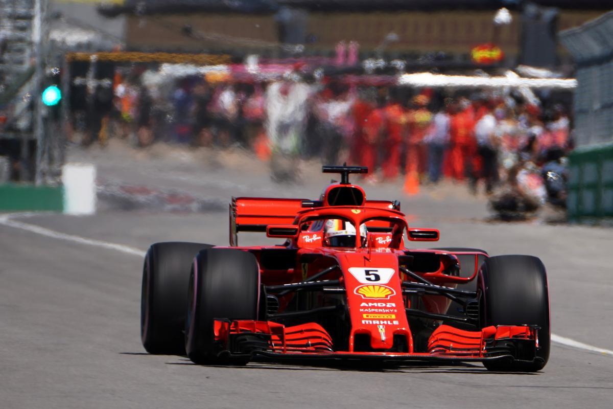 Феттель выиграл квалификацию Гран-при Канады / Reuters