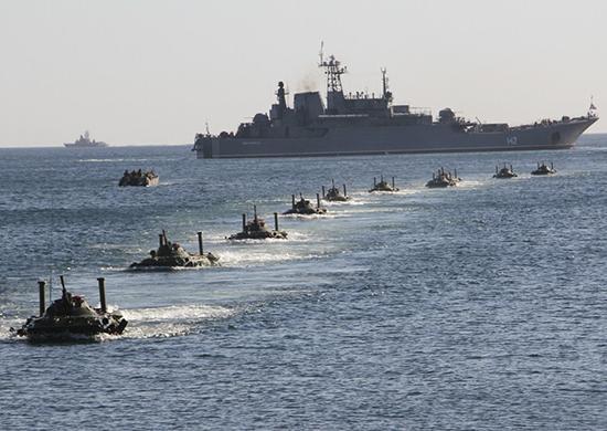 У России есть подавляющее преимущество в Азовском море, и она активно использует его для давления на Украину / Минобороны России