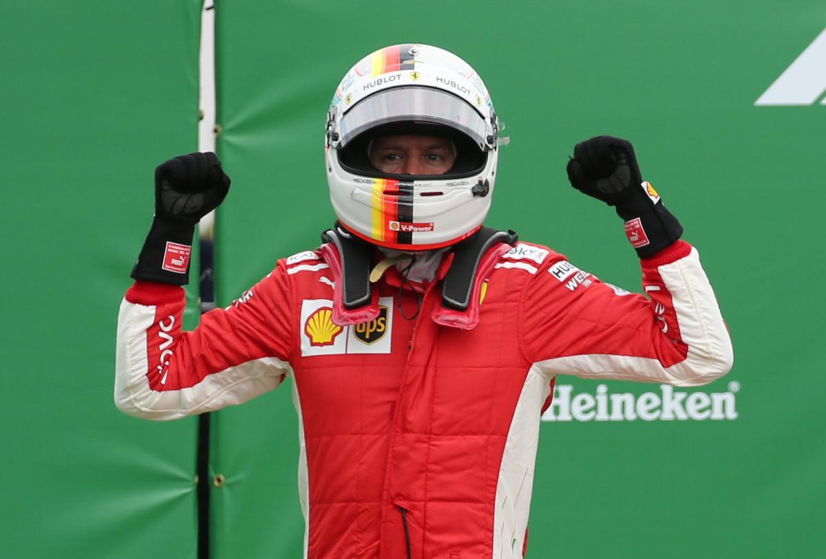 Себастьян Феттель выиграл Гран-при Канады / REUTERS