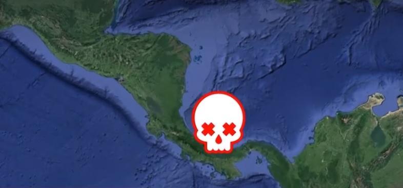 Мертвая зона - это свыше 17 тысяч квадратных километров / скриншот видео ТСН