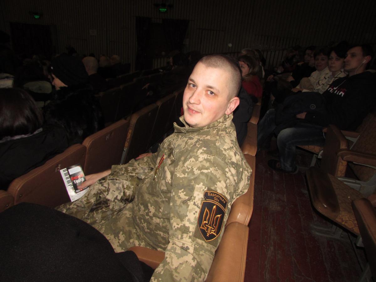 Ветерана 93-ї бригади Микита Фріц викликав на місце інциденту поліцію / Facebook Микита Фріц