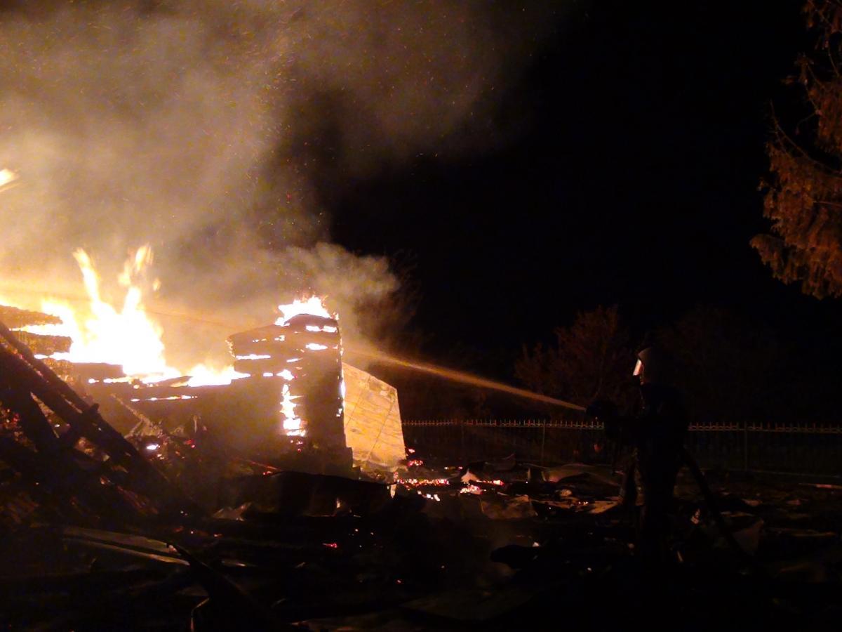 Вогнем знищено будівлю церкви загальною площею 250 кв. м / ДСНС