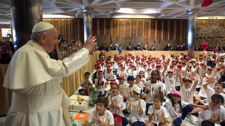 В Ватикан прибыл «Детский поезд» / vaticannews.va