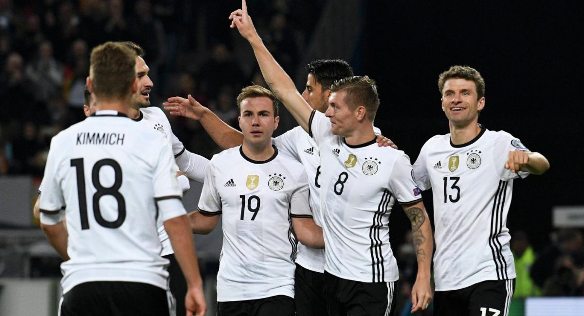 В отборе к ЧМ-2018 немцы выиграли все 10 матчей / Reuters
