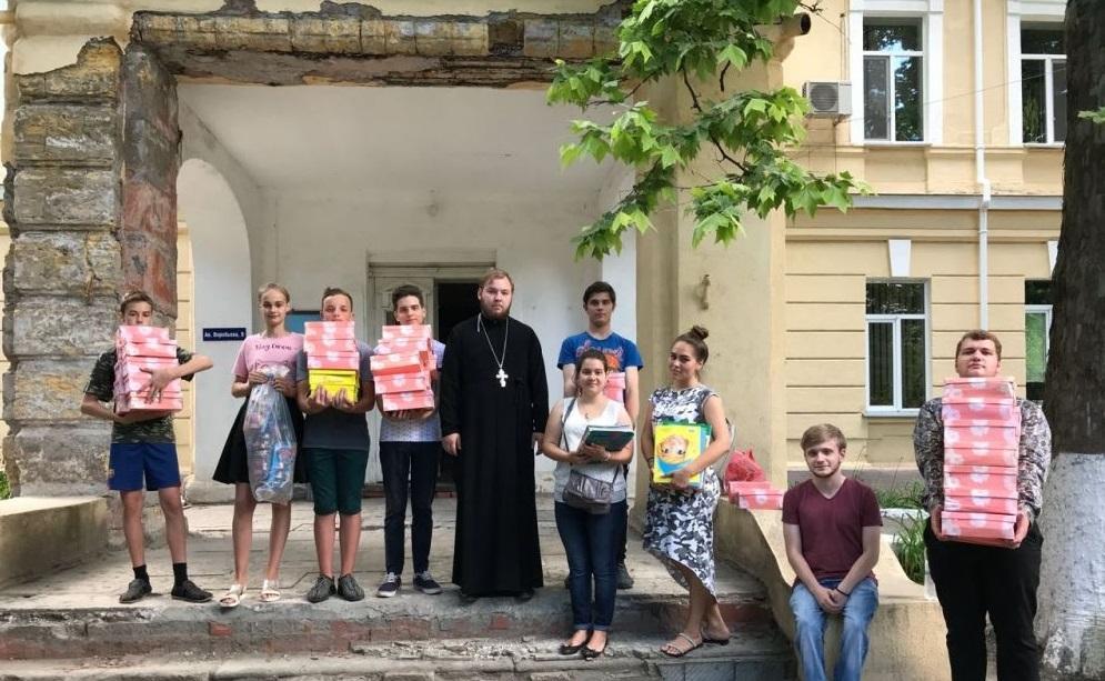 Молодь відвідала дитяче відділення Одеського обласного центру психічного здоров'я / eparhiya.od.ua