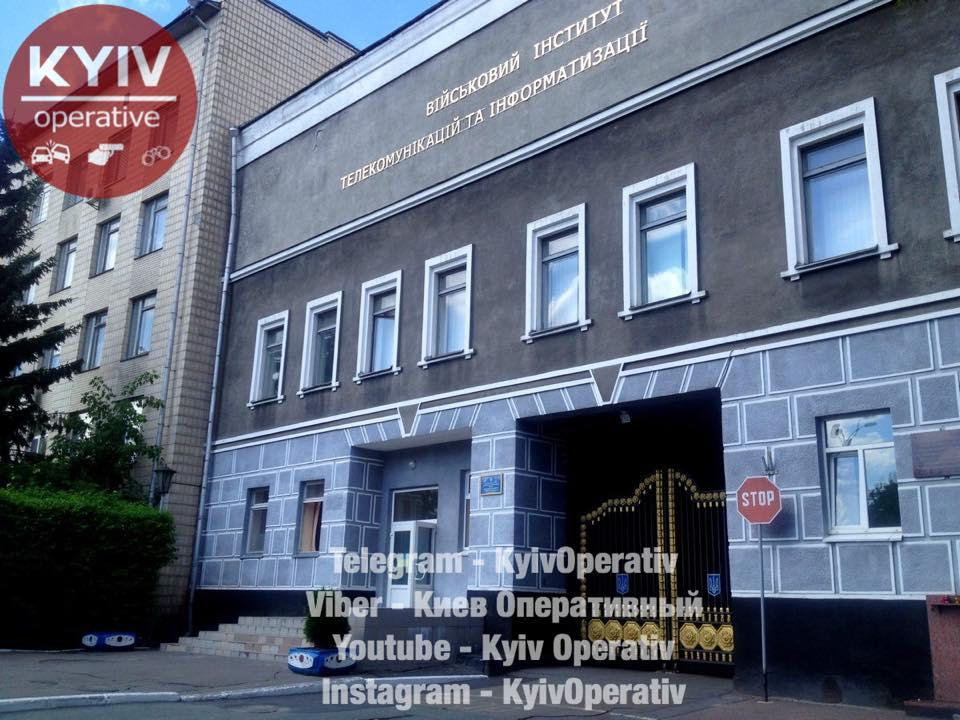 В учреждении выясняют обстоятельства инцидента / фото facebook.com/KyivOperativ