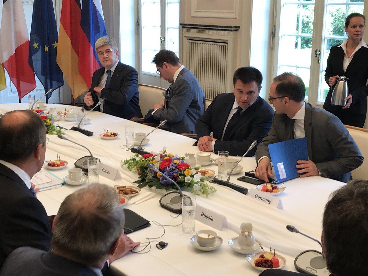 В повестке дня заседания - обсуждение состояния выполнения Минских договоренностей / Twitter