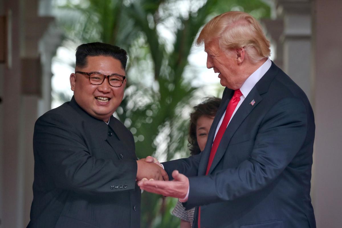 Дональд Трамп та Ким Чен Ин / REUTERS