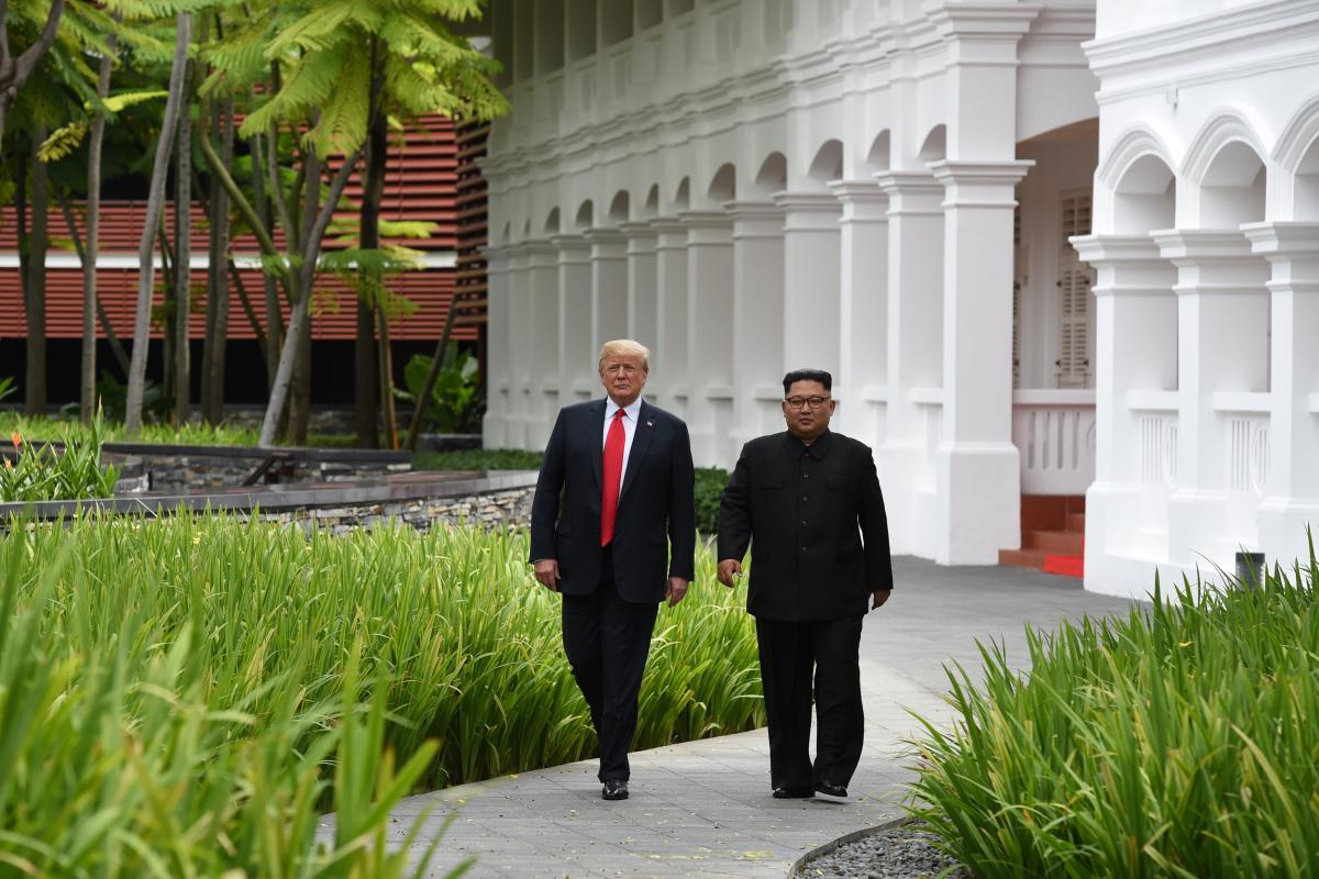 Дональд Трамп і Кім Чен Ин / REUTERS