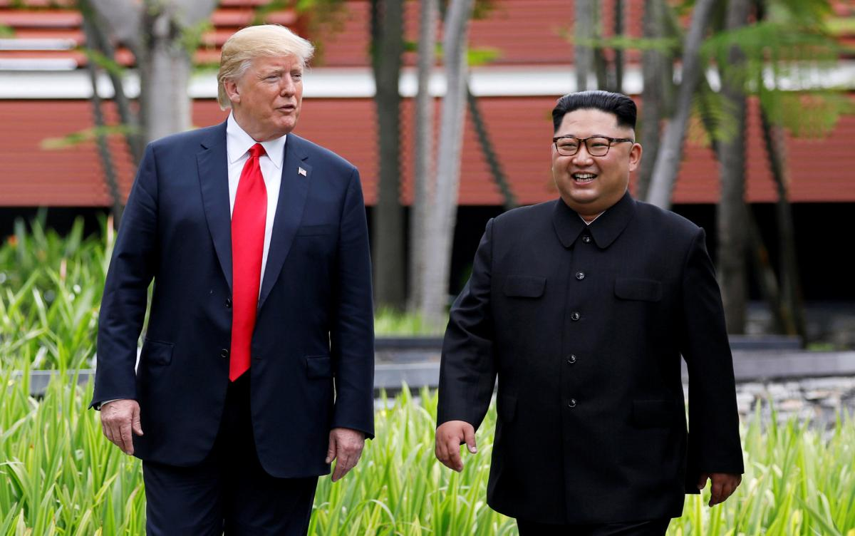 Дональд Трамп та Кім Чен Ин / REUTERS