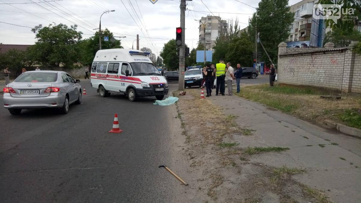 Женщина на зеленый свет переходила дорогу / 0552.ua