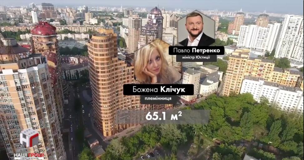 Журналисты узнали о дорогое имущество племяннице министра Петренко / фото bihus.info